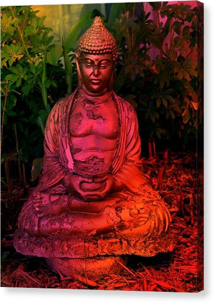 Timeless Buddha Canvas Print