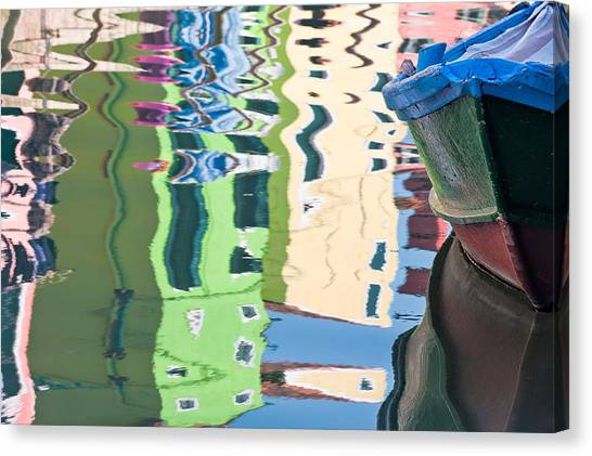 Timeless Colors Of Burano Canvas Print