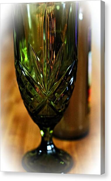 Iced Tea Canvas Print - Timeless Glassware by See My  Photos