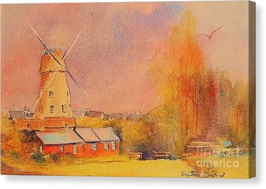Timeless Rye Canvas Print