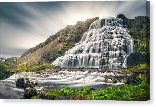 Waterfalls Canvas Print - Timeless by Stefan Mitterwallner