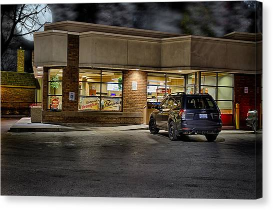Timmy's At Night Canvas Print
