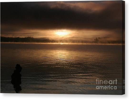 Timothy Lake Mysterious Sunrise 2 Canvas Print