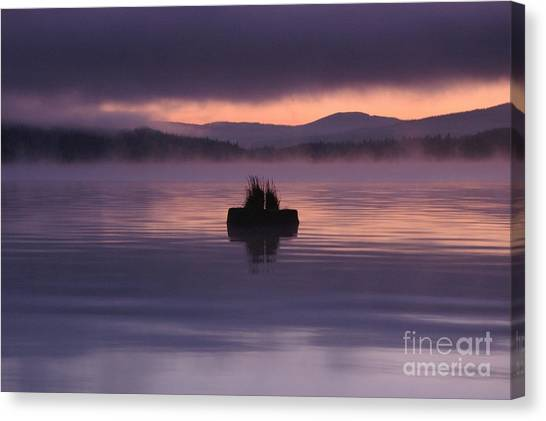 Timothy Lake Serenity Canvas Print