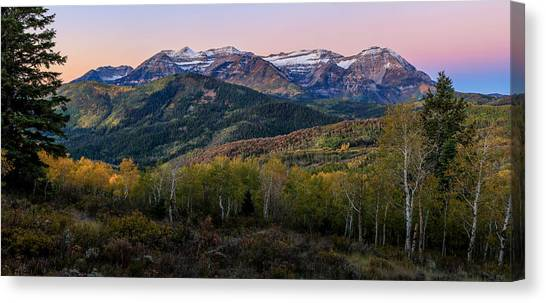 Timp First Light Canvas Print