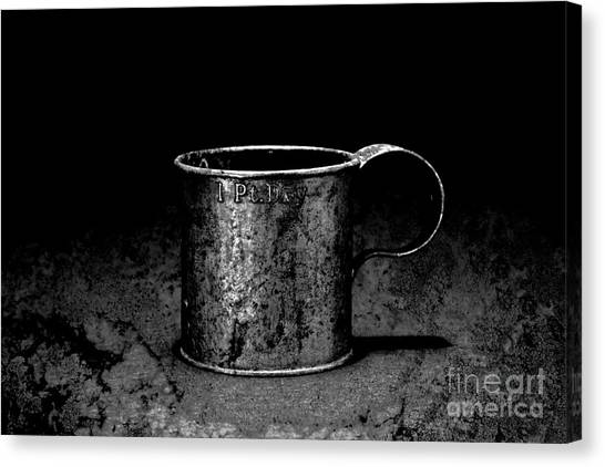 Tin Cup Chalice Canvas Print