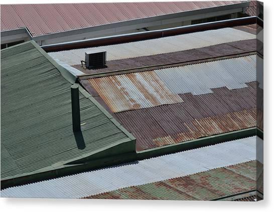 Tin Rooftops Of San Jose Canvas Print