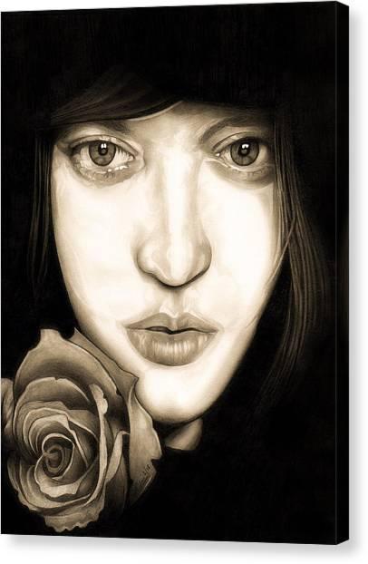 Tina Ayres Canvas Print