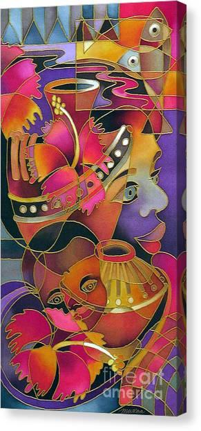 Tinana II - Strength Of A Woman Canvas Print