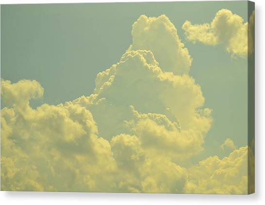 Tinted Cloud Canvas Print by Kiros Berhane