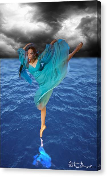 Tiny Dancer 2 Canvas Print by Rick Buggy
