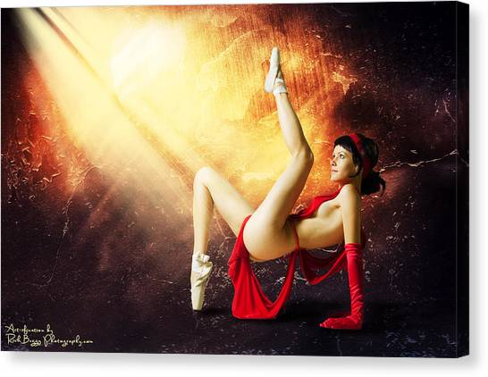 Tiny Dancer Canvas Print by Rick Buggy