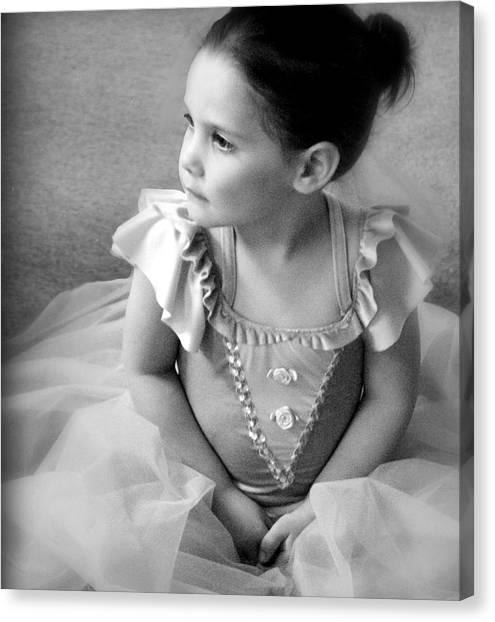 Tiny Dancer Canvas Print by Stephanie Grooms