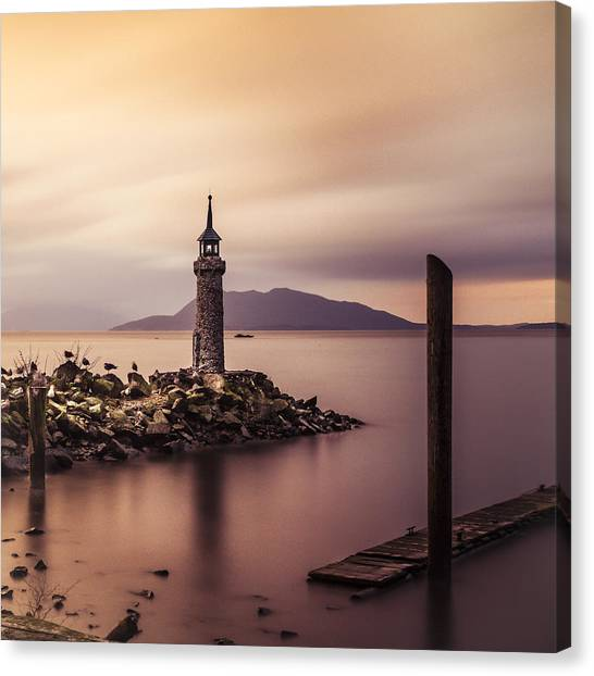 Tiny Lighthouse Canvas Print
