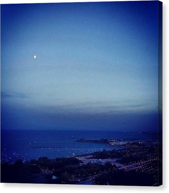Harbors Canvas Print - Tiny Moon by Jill Tuinier