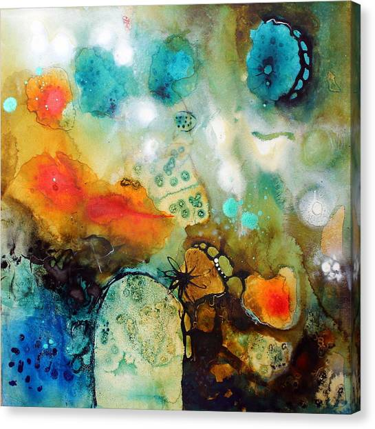 Underwater Canvas Print - Tiny Universes by Tracy Verdugo