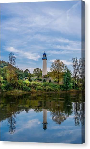 Tionesta Lighthouse 2 Canvas Print