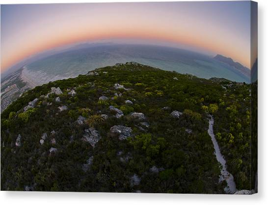 Cape Town Canvas Print - Tip Of The World by Aaron Bedell