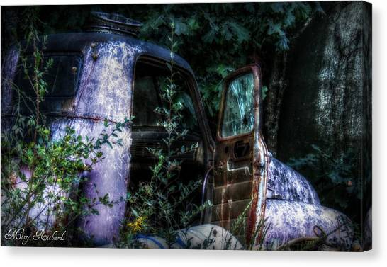 Tired Canvas Print by Missy Richards