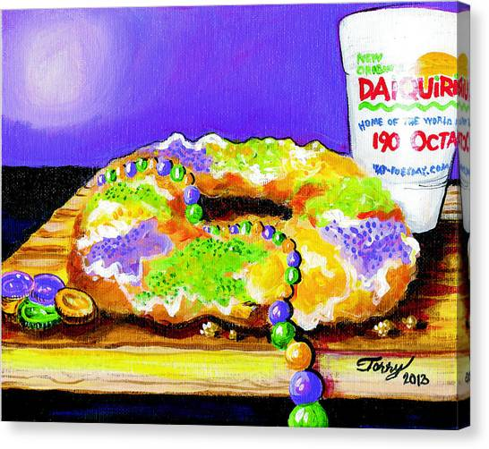 Tis Da Season Mista Canvas Print by Terry J Marks Sr