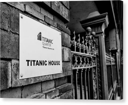 Titanic House Canvas Print