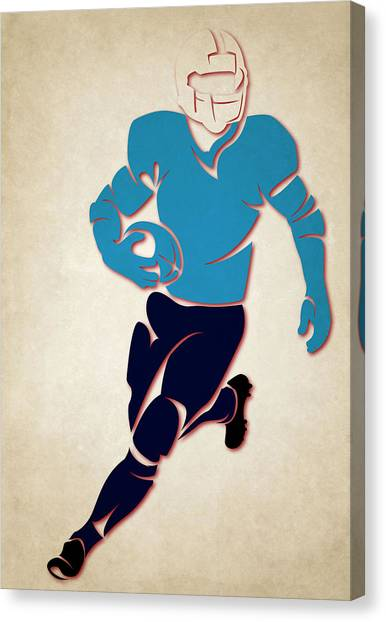 Tennessee Titans Canvas Print - Titans Shadow Player by Joe Hamilton