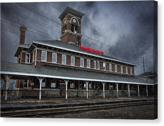 Titletown Brewing Co Canvas Print by Thomas Zimmerman