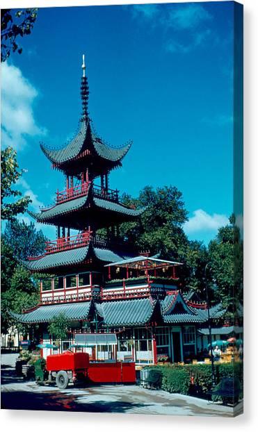 Tivoli Pagoda 1953 Canvas Print by Cumberland Warden