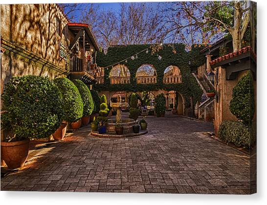 Tlaquepaque Village No.1 Canvas Print