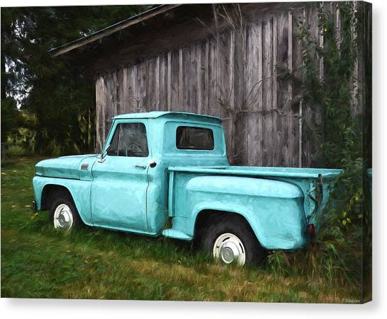 To Be Country - Vintage Vehicle Art Canvas Print