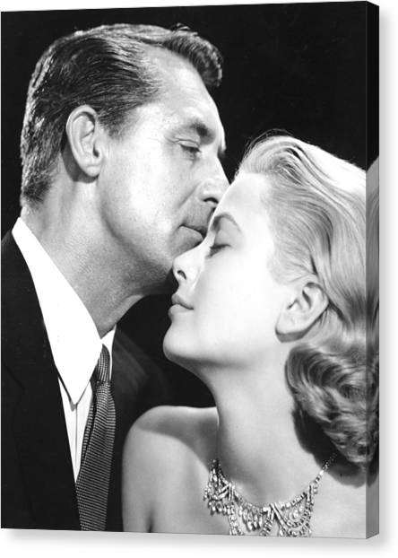 Grace Kelly Canvas Print - To Catch A Thief by Silver Screen
