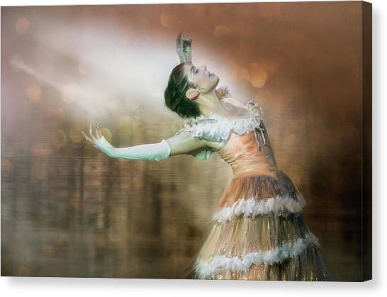 To Dance Canvas Print by Charlaine Gerber