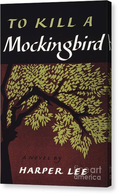 Mockingbird Canvas Print - To Kill A Mockingbird, 1960 by Granger