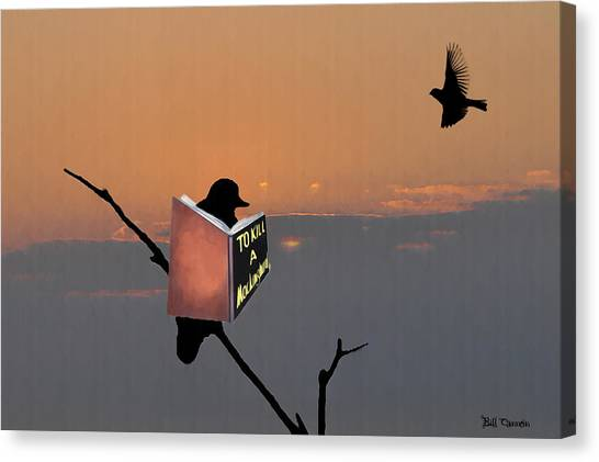 Mockingbird Canvas Print - To Kill A Mockingbird by Bill Cannon