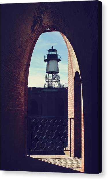 Lighthouses Canvas Print - To Light The Way by Laurie Search