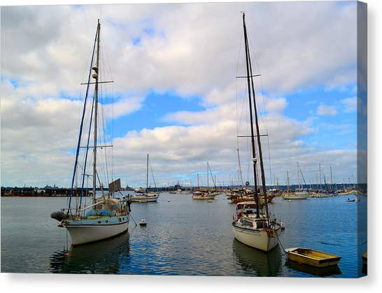 To Sail Canvas Print
