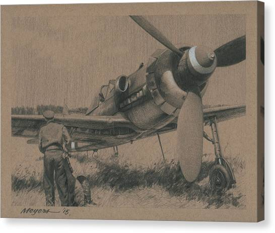 Luftwaffe Canvas Print - To The Victors by Wade Meyers