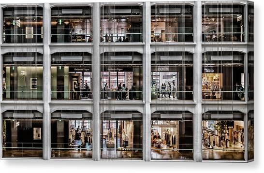 Mall Canvas Print - Todays' Choice by Andreas Agazzi