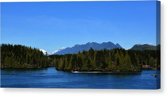Tofino Bc Clayoquot Sound Browning Passage Canvas Print