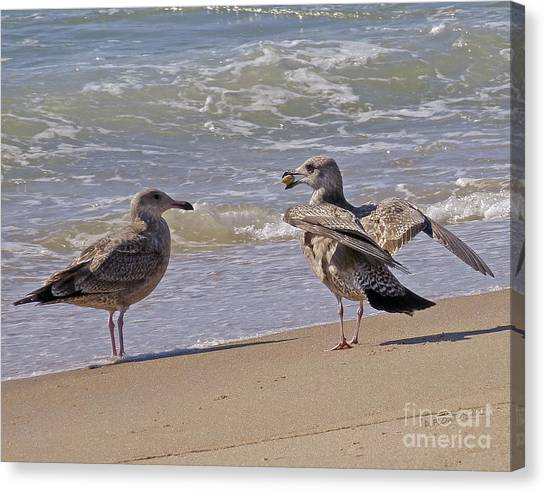 Canvas Print featuring the photograph Token Of Affection by Dee Flouton