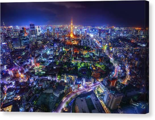 Tokyo Dreamscape Canvas Print