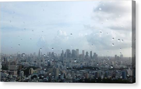 Tokyo Skyline Canvas Print - Tokyo by Sharing His Creation