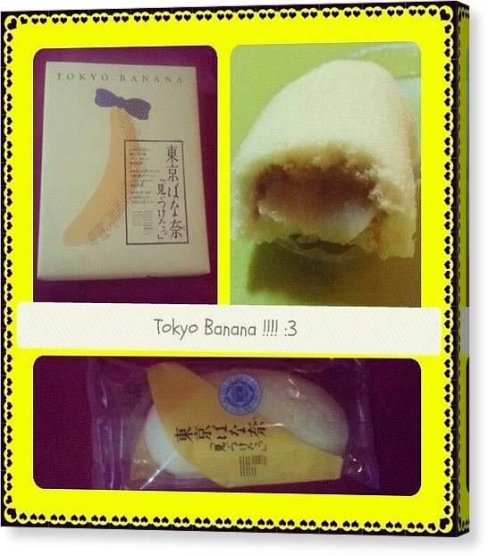 Bananas Canvas Print - #tokyobanana Review^^ It Taste Light N by Jive Soo