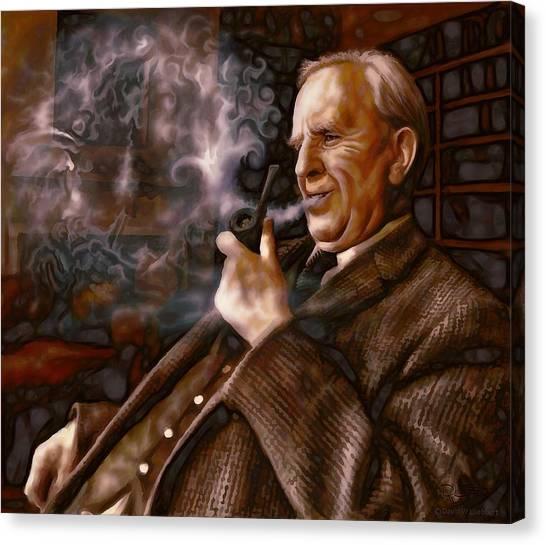Tolkien Daydreams Canvas Print