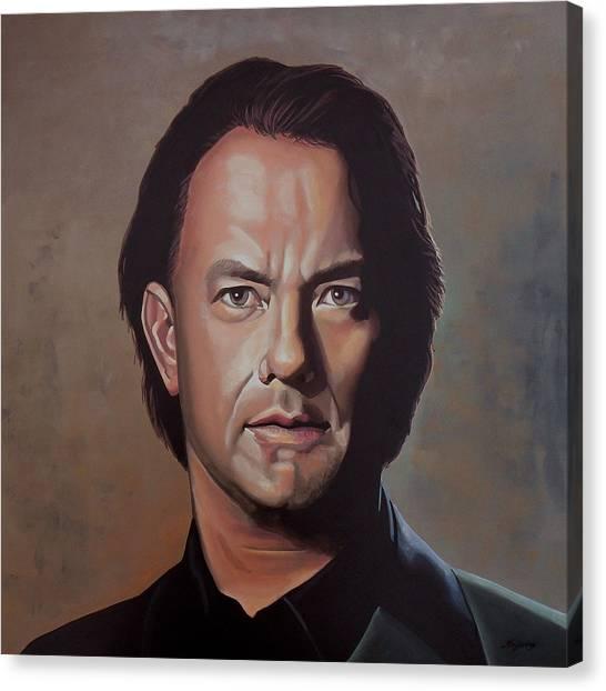 Paul Ryan Canvas Print - Tom Hanks by Paul Meijering