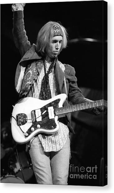 Tom Petty Canvas Print - Tom Petty And The Heartbreakers by Concert Photos