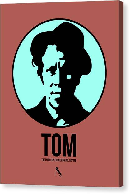 Rock Music Canvas Print - Tom Poster 2 by Naxart Studio