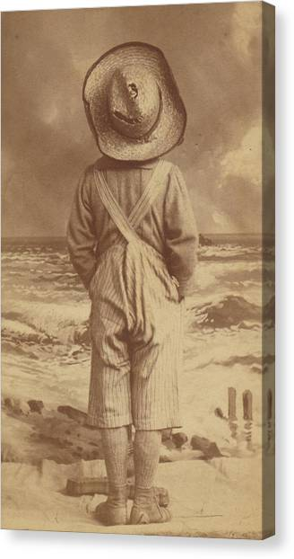 Tom Sawyer At The Beach Canvas Print