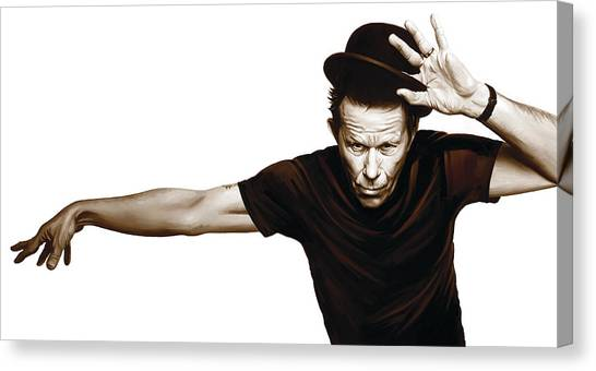 Tom Waits Artwork  4 Canvas Print