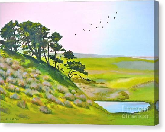 Tomales California Canvas Print